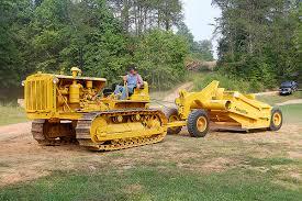 Down Scraper Tractor