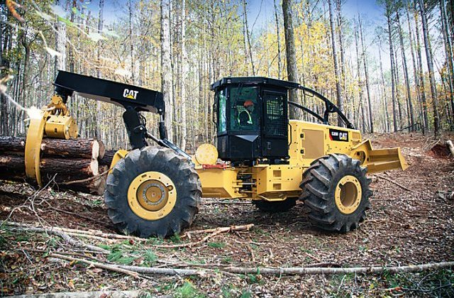 Wheel Skidder - CAT 550