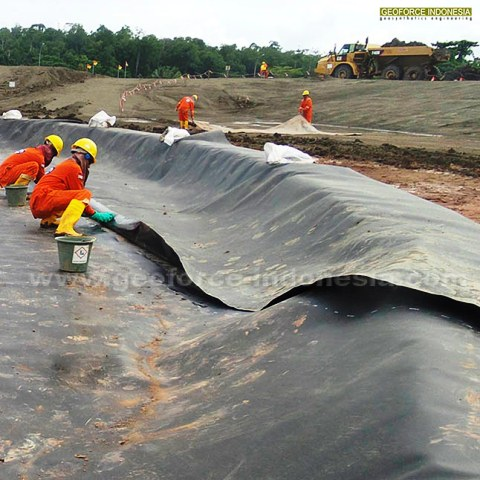 Geomembrane Papua 2015