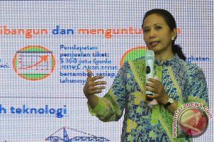Menteri BUMN, Rini Soemarno (ANTARA FOTO/Agus Bebeng)