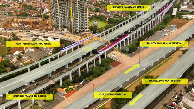 Ilustrasi Japek Toll Road