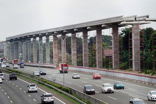 Proyek LRT Cibubur - Cawang