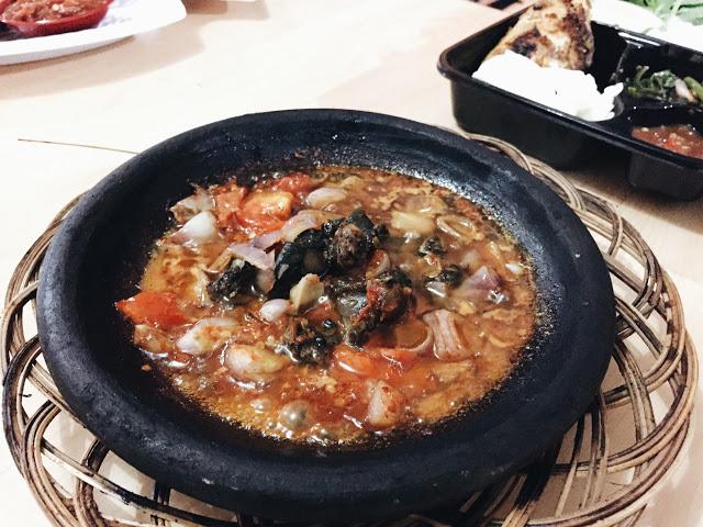 Sambal Gammi Kerang (Gammi = Makanan Khas Bontang)