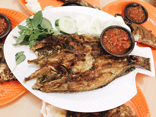 Ikan Kakap Bakau Bakar with Large Size