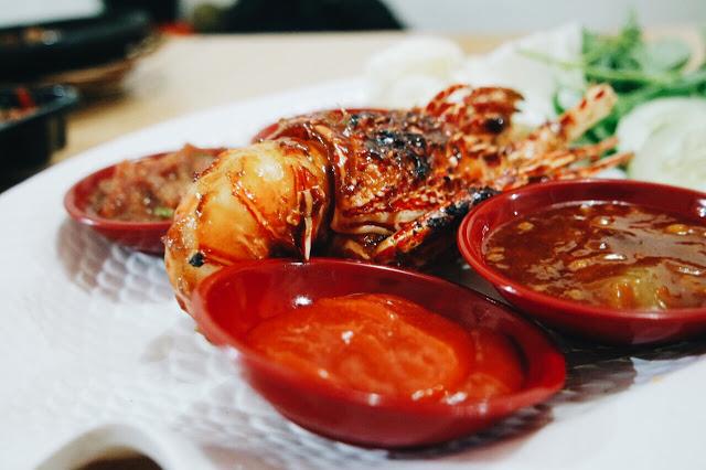 Lobster Bambu Bakar