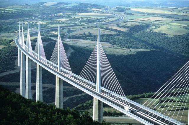 Millau Viaduct Bridge