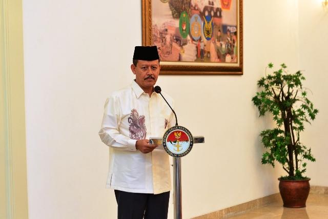 Laksamana Madya TNI Widodo, Sekjend Kemhan yang juga sebagai Pembina Diaspora Keluarga Besar Lumajang (DKBL) di Jakarta
