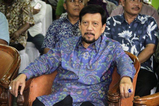 Tubagus Sulaeman Sekretaris Yayasan Harapan Kita TMII, juga hadir dalam Selamatan Peresmian Fanitra Plaza1