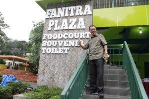 Supra Silitonga - Founder CEPA LawFirm yang juga hadir dalam peresmian Fanitra Plaza1 TMII