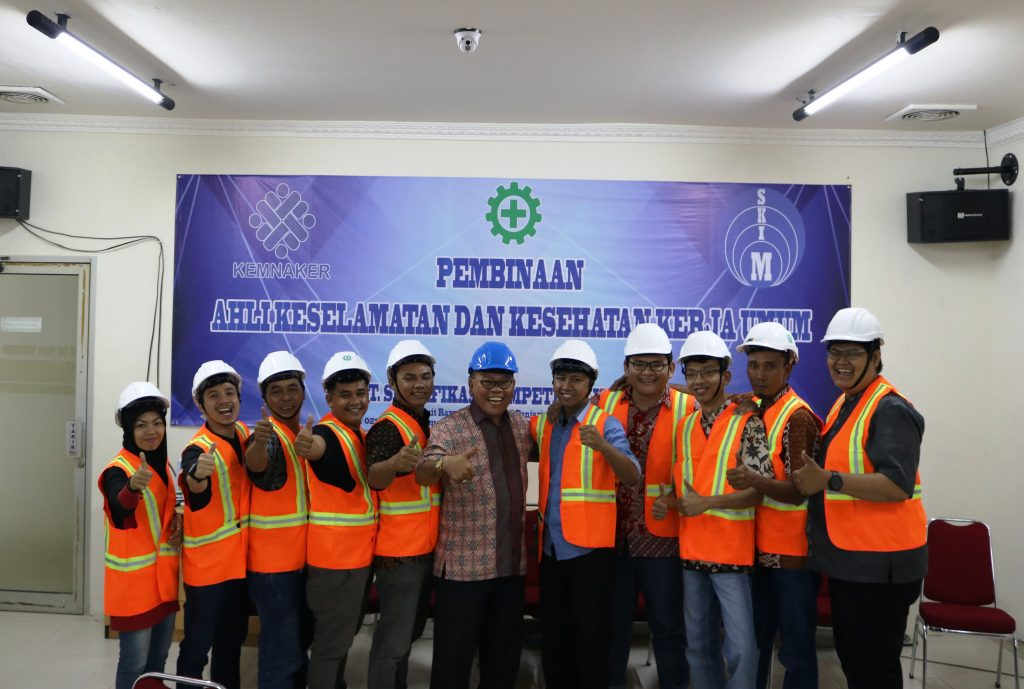 Image: Pembinaan Ahli K3 Konstruksi Kerjasama Astekindo - PT. SKIM