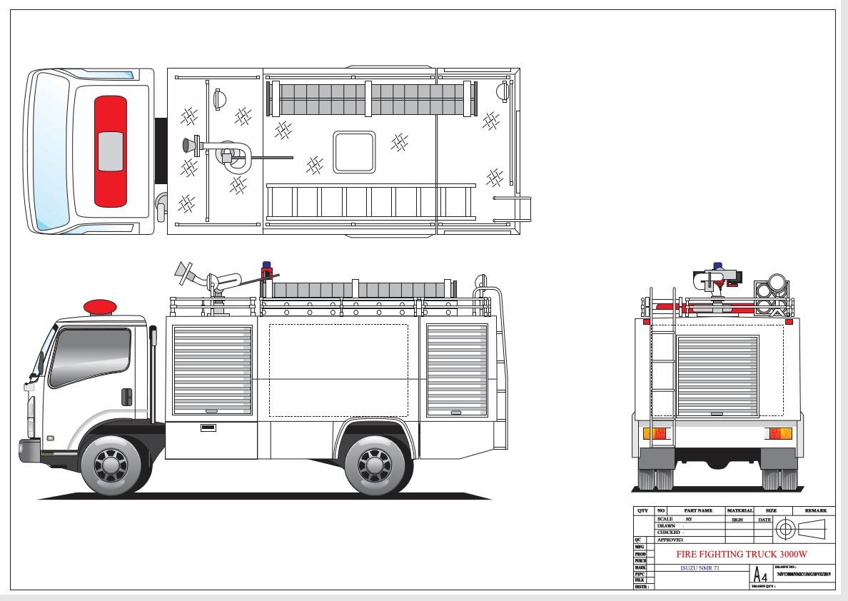 damkar-3000w-fire-fighting-truck