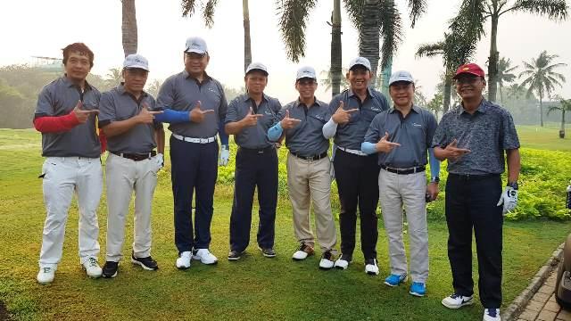 Foto: Para Alumni CEPA 88; Kika: Bambang Agung, Eqbal CEPA, Irjen Pol Sugeng P; Taufik DW, Heri Purnomo, Eko Pete, Mulyana & Nusyirwan Sujono