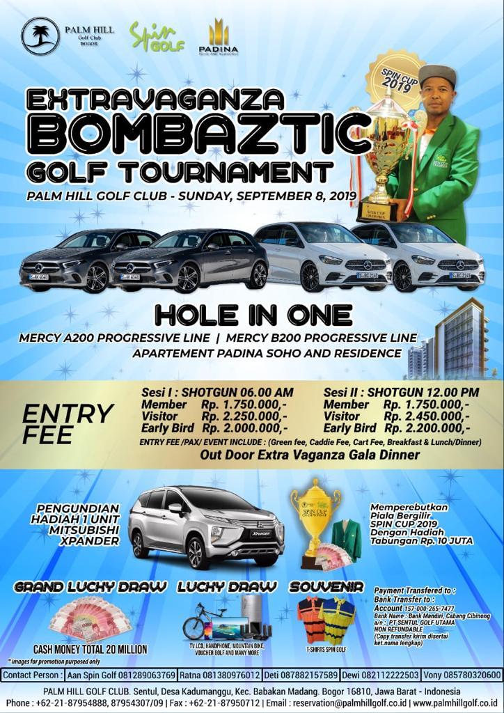 Extravaganza Bombaztic Golf Tournament