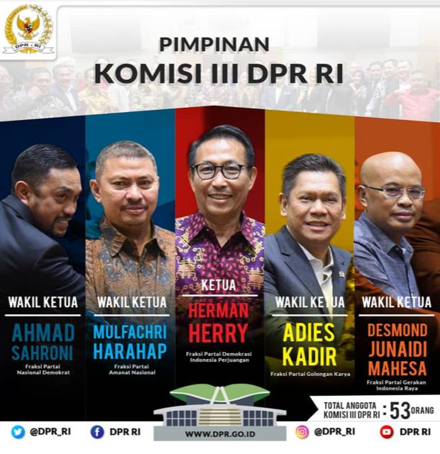 Komisi III DPR RI