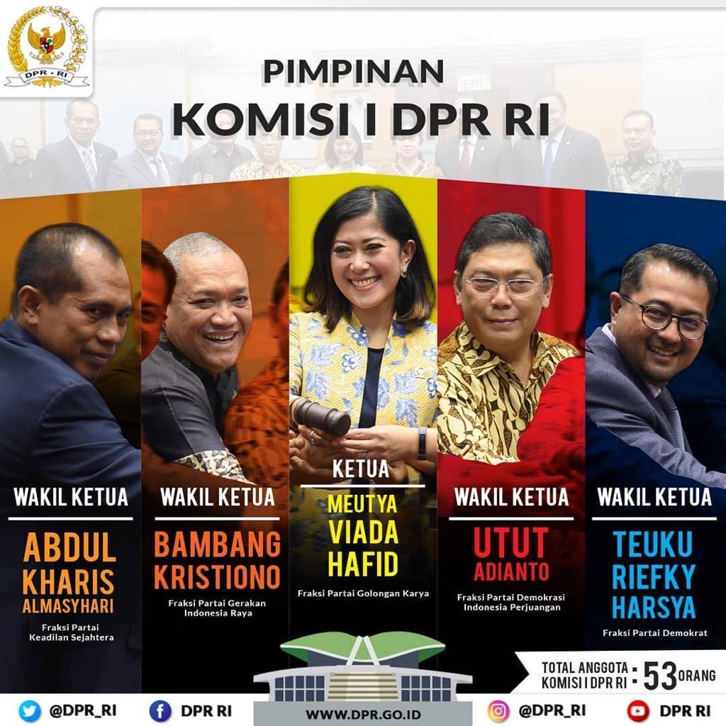 DPR RI Komisi I