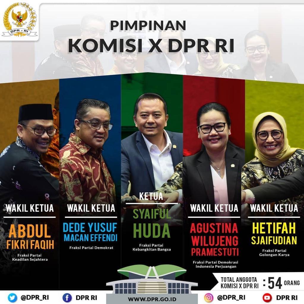 DPR RI Komisi X