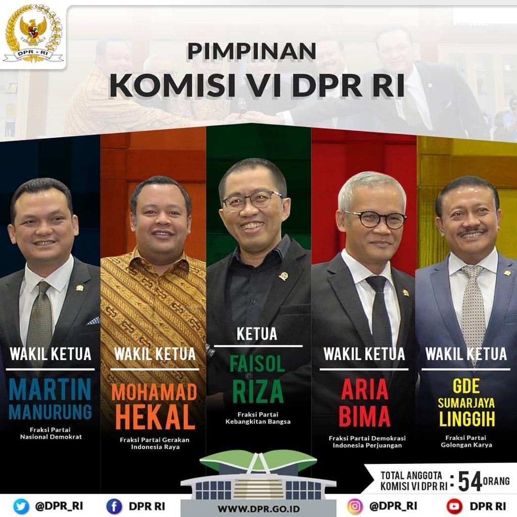 DPR RI Komisi VI