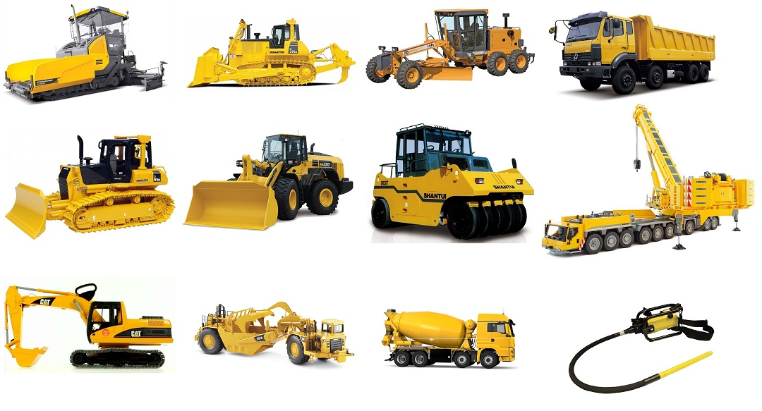 jenis jenis alat berat konstruksi - Jenis-jenis dan Fungsi Alat Berat Proyek Bangunan